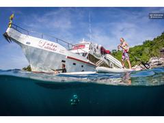 プーケット:ウォータースポーツボートクルーズ、オプションのスキューバダイビング 1名様 ¥ 7,669から