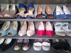 靴箱にある靴は何足ですか?