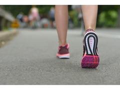 一日どのくらい歩いていますか?