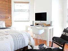 テレビ台複合机付きベッド