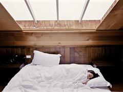 よく眠れる布団。