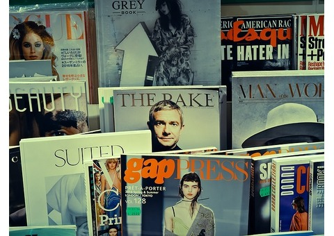 お店の雑誌や新聞の購読率が分かる仕組み