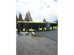 奈良交通の連節バス
