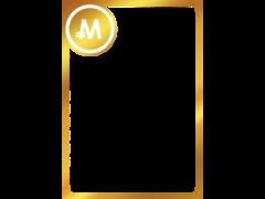 モナカードフレーム1-金