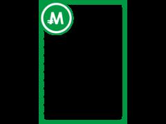 モナカードフレーム1-緑