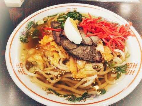 きりん亭の冷麺