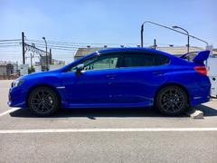 美しい青が映えるスポーツカー